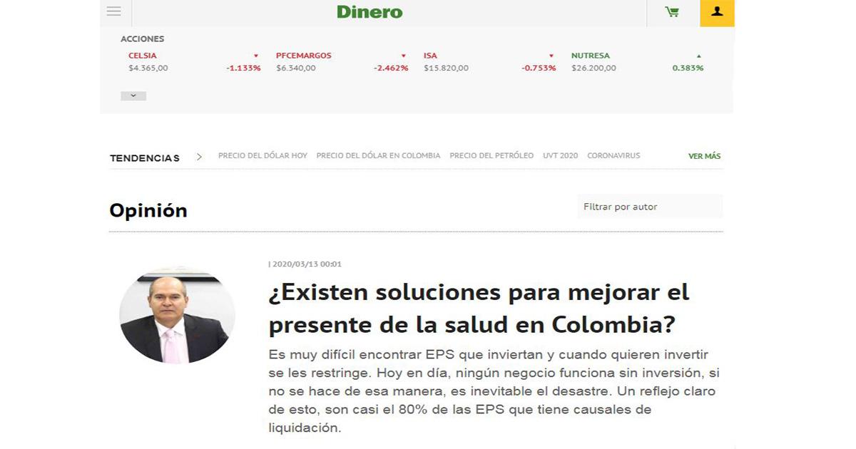 ¿Existen soluciones para mejorar el presente de la salud en Colombia?